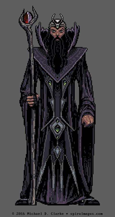 Pixel Sorcerer (enlarged 3x)